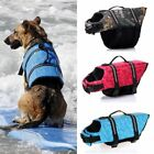 Pet Safety Vest Dog Surfing Life Jacket Preserver Puppy XS S M L XL XXL Swimwear