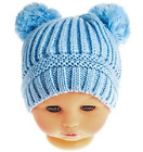 Baby hat POM POM winter cable knit knitted boy girl