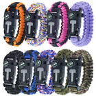 Paracord Planet Survival Youth Paracord Bracelets – Comes w/ Flint, Firestarter,