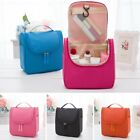 New Travel Makeup Cosmetic Bag Toiletry Wash Case Organizer Storage Hanging Bag
