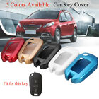 3 Buttons Remote Key Cover Case Shell Fob Hull For Peugeot 208 308 508 3008 5008