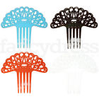 NEW Childs Spanish Flamenco Hair Comb Peineta Mini Swirl Dance Bright Accessory