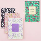 2018 Flowery Monthly Journal Diary Planner Scheduler Schedule Book Cute Notebook