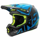 NEW ANSWER RACING AR-3 ALIGN BLACK CYAN RACE MX MOTOCROSS HELMET MENS ADULT