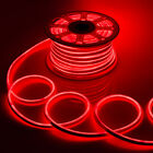 WYZworks Red Flexible Waterproof Soft Double Sided LED Neon Rope Light Strip