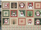 Kanban Christmas Diecut & Foiled Toppers (Festive Quilts - Red)