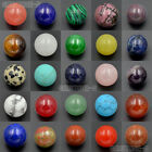 16mm Natural Gemstones Round Ball Crystal Healing Sphere Rock Stones Decor