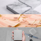 Concrete Wood Marble Memo Note Block Study Office Index Book Marker Bookmark