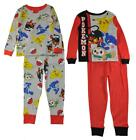 Pokemon Boys 4pc Multi-Color Snug Fit Pajama Pant Set Size 4 6 8 10 $46