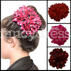 Beautiful Large Deluxe Spanish Flamenco Flower Hair Clip Plain Polka Dots Feria