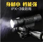 Bike Bicycle Lights Set V6 LED Zoomable Front Light Rechargeable Flashlight