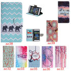 Leather Wallet Patterned Case For Huawei P8 Lite Stand Card Holder Shockproof