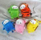 "Molang 5"" Animal Cute Rabbit Bunny Plush Stuffed Doll Toy Key Ring Holder Bag"