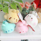 "Molang 5"" Lieing Cute Rabbit Bunny Plush Stuffed Mozzi Doll Toy Key Holder Bag"
