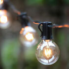 25FT Outdoor Waterproof Commercial Grade Patio Globe String Lights Bulbs