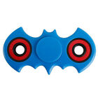Black Fidget Hand Finger Spinner Bat Batman EDC ADHD GYRO Pocket Toy LW