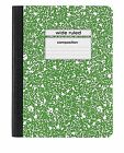 Composition Notebooks Wide & College Ruled 80/100 Sheets School Office Supplies