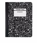 Composition Note-Books Wide & College Ruled 100 Sheets School Office Supplies