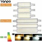 R7S 78mm 118mm LED Floodlight Corn Bulb 2835 SMD 12W 16W Replace Halogen Lamps