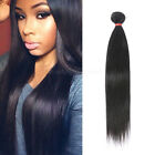 "3 Brazilian Remy Virgin Human Hair Straight Weft Extensions 18"" 20"" 22"" 24"" 300g"