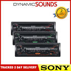SONY Car Stereo CD MP3 Radio USB Aux In Player Red/Amber/Green Key Illumination
