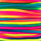 Colorful Neon Rainbow Cord Tie Dye Style Type III 7 Strand 550 Paracord Rope