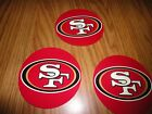 4 IN NFL SAN FRANSICO 49er CORNHOLE AUTO WINDOW VIN COATED DECALS UV PROTECTED