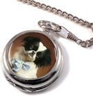 Japanese Chin by Carl Reichert Full Hunter Pocket Watch (Optional Engraving)