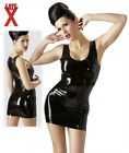 Mini Abito Fetish Latex Spalline e Scollatura senza cuciture  Accessori Erotici