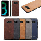 Slim Retro Genuine Leather Case Back Cover Skin For Galaxy S8/S8 Plus & iPhone 7