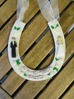 Handmade Personalised Wedding Horseshoe - Bride and Groom, Scottish Wedding etc