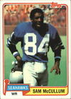 1981 Topps Football Card Pick 2-451