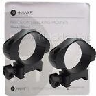 Deben Hawke Precision Steel 30mm Weaver/ Picatinny Scope Ring Mounts