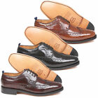 Mens Delicious Junction Upsetter Leather Brogues Scooter 60s MOD Sizes 6 to 12