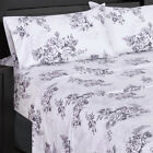 royal tradition bedding - Royal's Best Bed Sheet Set Luxury Freshly Floral Bally Sheets 300 TC 100% Cotton