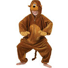 Childrens Monkey Costume for Chimpanzee Ape Cheeky Animal Primate Fancy Dress