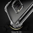 Full Cover Protection Four Corner Shockproof  Soft TPU Clear Case For Samsung