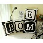 """18"""" Personalized Monogrammed 26 Initial Letter Sofa Pillow Case Cushion Cover"""