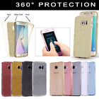 For Samsung Galaxy S6 S7 S8 J3 Shockproof 360 Silicone Protective Gel Case Cover