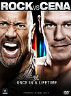 WWE: Once in a Lifetime - The Rock vs. John Cena (DVD, 2012, 3-Disc Set)