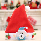 Adult Children Chirstmas Hat Antlers Hat Christmas Party Santa Hat Red White Cap