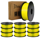 10x Pcs Yellow PLA/ABS 3D Printer Filament 1.75mm 1KG/2.2LB FOR RepRap MarkerBot