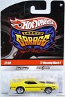 Hot Wheels '71 Mustang Mach 1 Chase Larry's Garage #T0398 New 2009 Yel 8+ 1:64