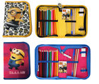 Despicable Me 3 Filled Pencil Case Stationery Minions Folding Pencil Case School