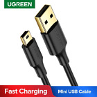 Ugreen usb cable a to mini b samsung data ipad short 2.0 Male Charger 5-Pin Cord