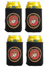 USMC US MARINE CORPS SEAL CAN KOOZIE COOLER Wrap Insulator Sleeve Jacket Holder