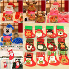 Christmas Santa Socks Box Ornaments Festival Party Xmas Tree Hanging Decor Hot