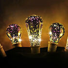 LED Light Bulb E27 Fireworks Decorative 3D Edison Party Lamp A60 ST64 G80 G125
