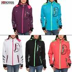 Geographical Norway Thea Lady Damen Softshelljacke Softshell Regen Jacke S-XXL
