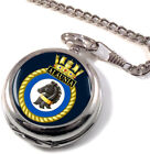 HMS Alaunia Full Hunter Pocket Watch